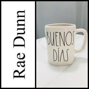 NEW Rae Dunn BUENOS DÍAS Mug